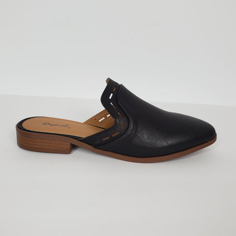 Women`s Flats Mules Black