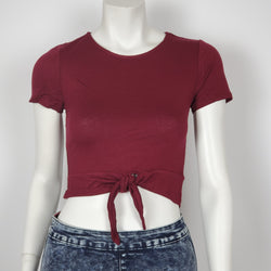 Women's Ambiance Crop Top Tie Up