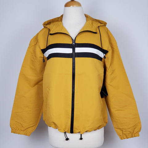 Women's Waterproof Windbreaker Kacket Yellow