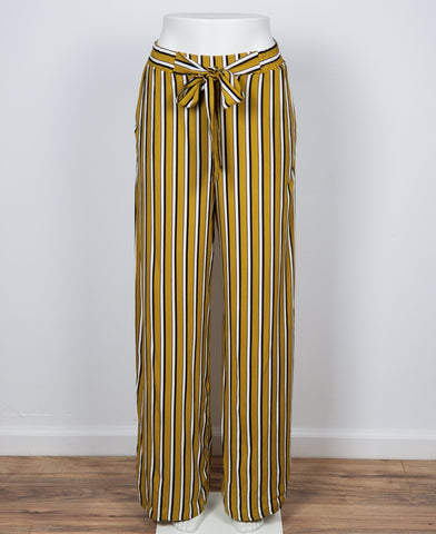High Rise Palazzo Pants Wide Leg