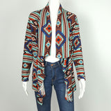 Women's Waterfall cardigan tribal Print