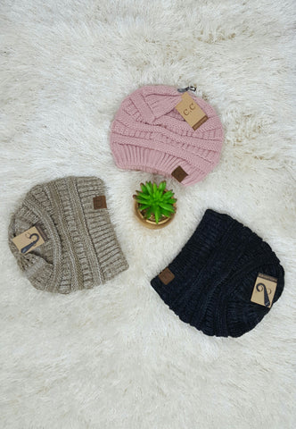 Detailed Knitted Beanies for Winter