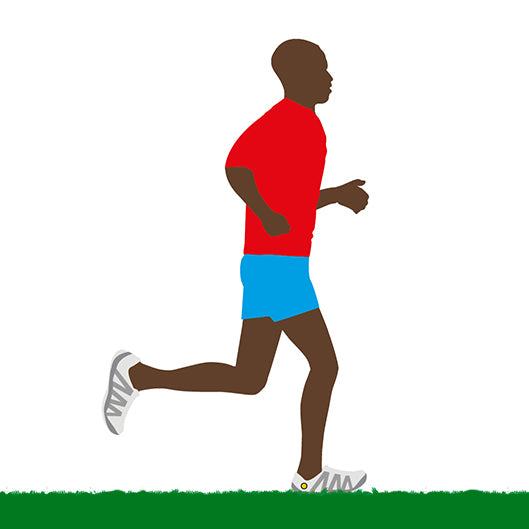 JOGGING IS A NATURAL GAIT AT SLOW SPEEDS AND ON SOFT SURFACES