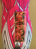 Wow Couture Multicolor Mini Dress With Cutouts NWT Ladies Size Small