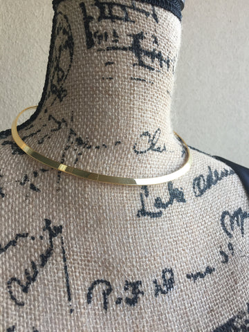 L A U R A • CHOKER ~ Gorgeous Gold Necklace