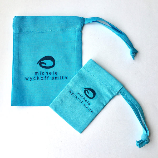 Eco friendly drawstring bag for Wyckoff Smith Jewellery