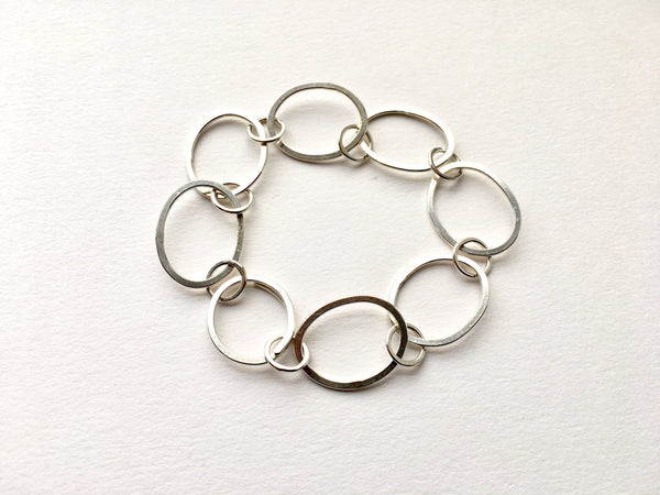 Open Oval Chain Tori Bracelet