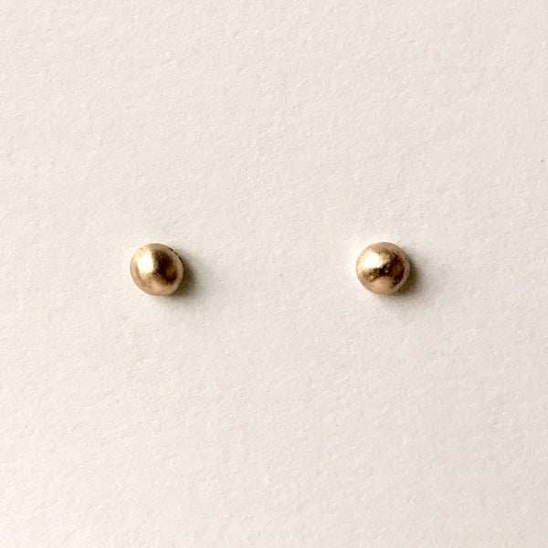 9 ct Gold Ball Stud Earrings
