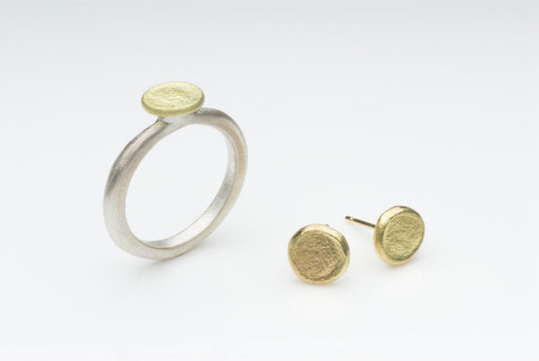 Silver and 18 ct Gold Shen Ring