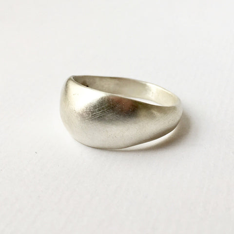 Silver Siena Ring by Michele Wyckoff Smith at www.wyckoffsmith.com