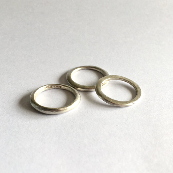 SALE: Size L stacking rings