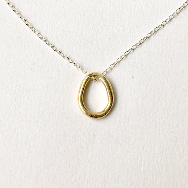 14 ct gold Anika pendant by Michele Wyckoff Smith