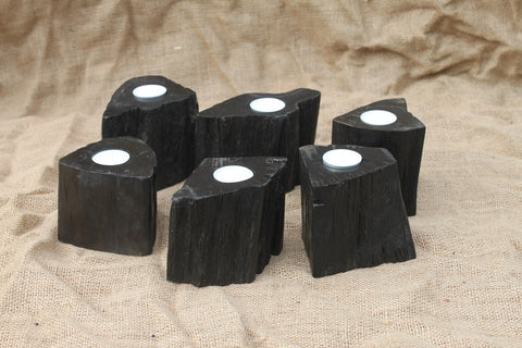 Set of 2 Tealight Candle Holders