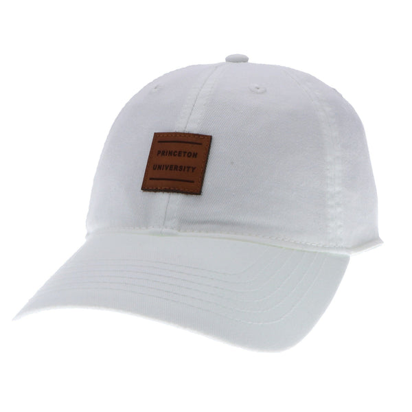 Women's Leather Patch Hat