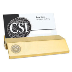 Princeton Brass Business Card Holder
