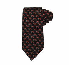 Princeton All Over Tiger Print Tie