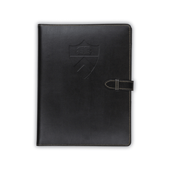 Contrast Stitch Padfolio with Closure