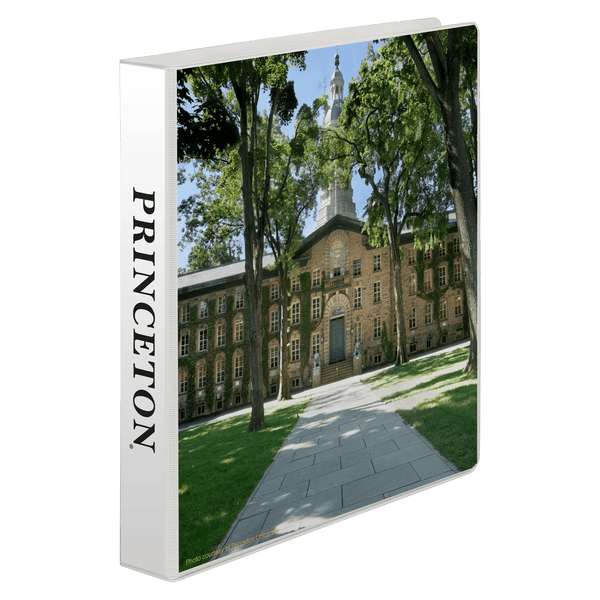 "1"" Nassau Hall Binder"