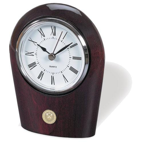 Palm Rosewood Desk Clock