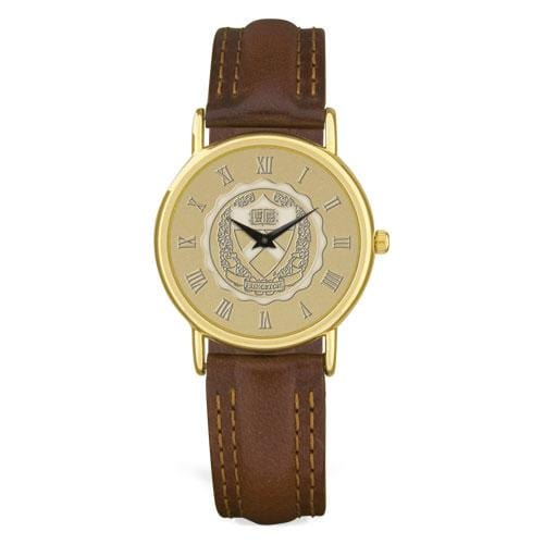Men's Watch Brown Leather Strap