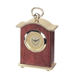Le Petit Rosewood Carriage Clock
