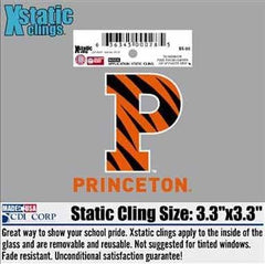 Striped P Static Cling/Sticker (Inside)