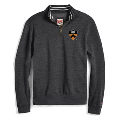 League Tri-Blend Collegiate Left Chest Shield 1/4 Zip