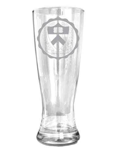 Etched Medallion Pilsner Glass - 20 oz.