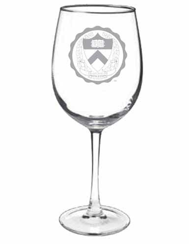 Etched Medallion Wine Glass - 12 oz.