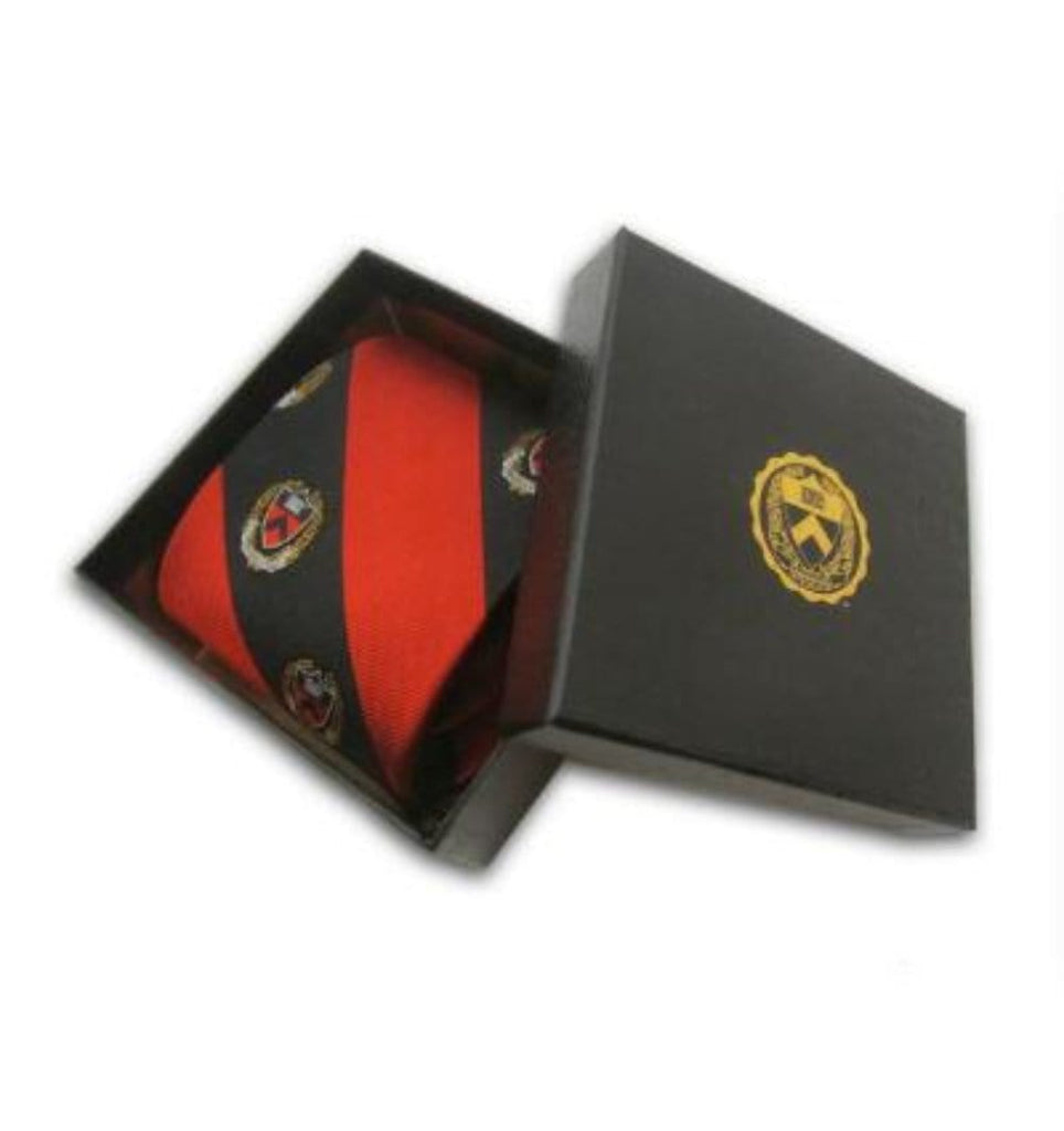 Princeton Stripe Tie with Seal - Gift Box