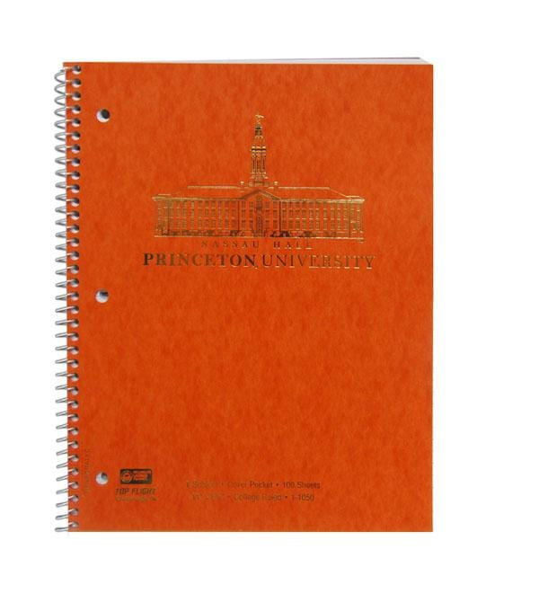 1 Subject Orange Notebook (100 Sheet)