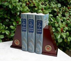Princeton Medallion Bookends