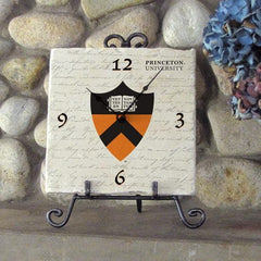 Princeton Tileworks Clock with Easel