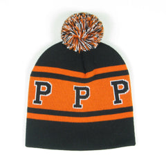 Old School No Cuff Beanie with P