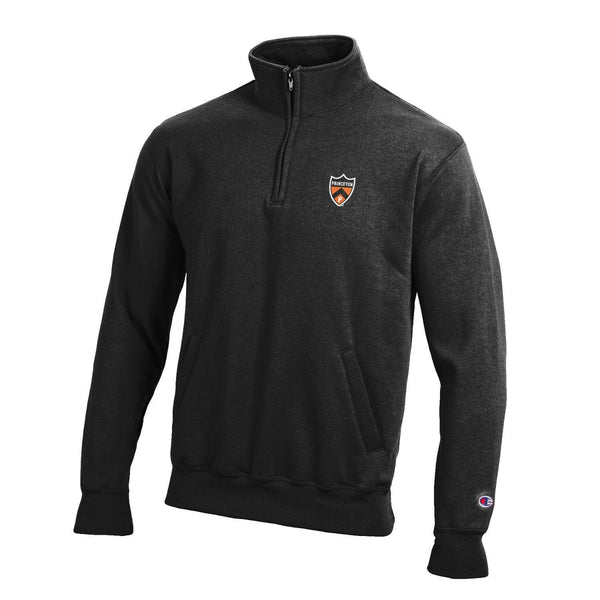 Champion Left Chest Shield 1/4 Zip