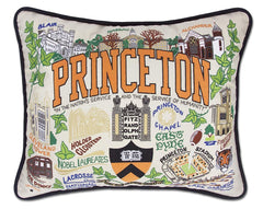 Catstudio Embroidered Princeton Pillow