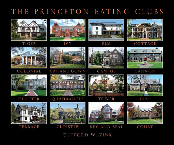 Princeton Eating Clubs Book