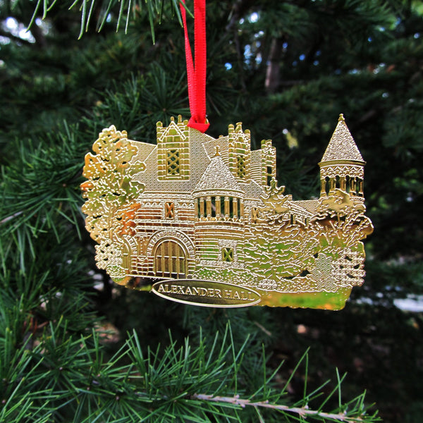 Alexander Hall Ornament - Brass