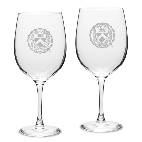 Campus Crystal 19 oz. Wine Glasses (Set of 2)