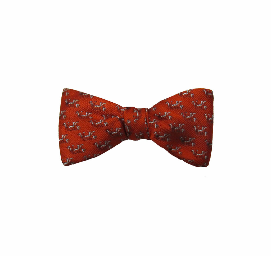 Princeton All Over Tiger Print Bow Tie