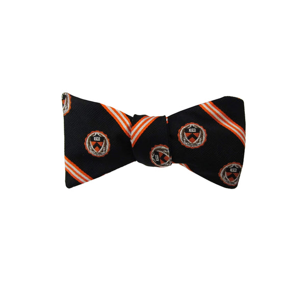 Brooks Brothers All Over Medallion Bow Tie