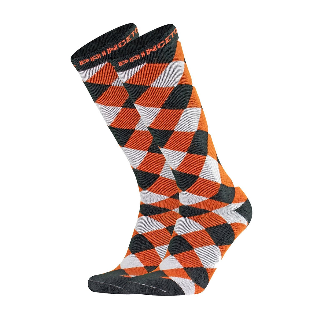 Princeton Women's Checkered Knee High Socks (9-11)