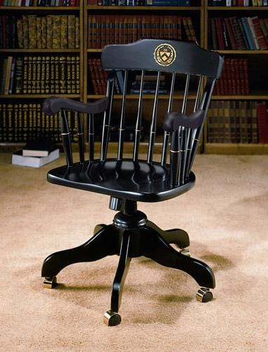 Swivel Desk Chair - Black