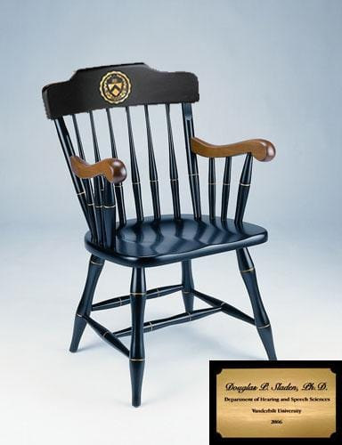 Captains Chair - Black with Personalization