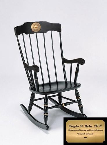 Rocking Chair - Black with Personalization