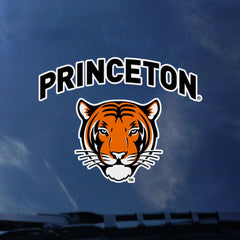 Arched Princeton with Tiger Decal/Sticker (Outside)