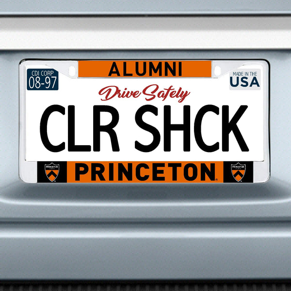 Alumni License Plate Frame (Chrome)