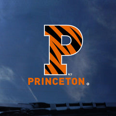 Princeton - Striped P - Decal/Sticker (Outside)