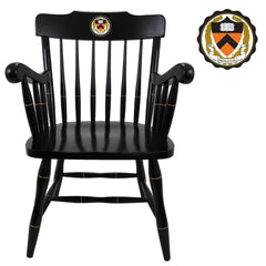 Black Back Captain's Chair