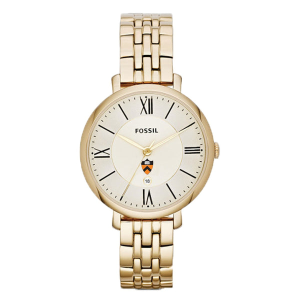 Fossil Ladies Shield Metal Strap Watch